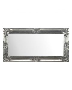 Electro-Plated Nickel Silver Hand Carved Mirror
