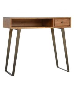 1 Drawer Chestnut Writing Desk