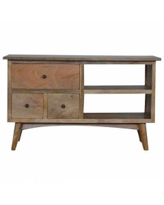 TV Stand For TVs Up To 41 Inch 3 Drawers And Shelf