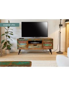 Baumhaus Coastal Chic Widescreen TV Cabinet