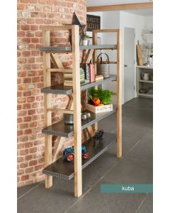 Baumhaus Kuba Large Open Bookcase