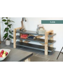 Baumhaus Kuba Low Bookcase / Sideboard