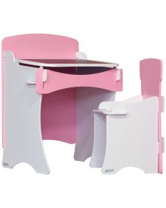 Kidsaw Kinder Desk & Chair Pink