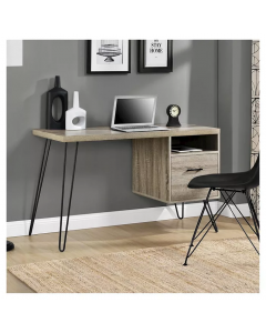 Landon distressed oak laptop desk at Price Crash Furniture