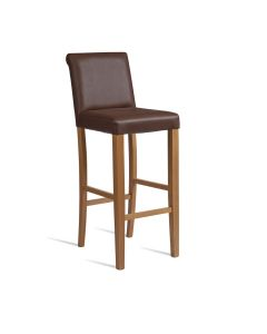 LYNX Bar Stool – ZA.303ST – Brown