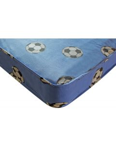 Kidsaw Football Single Mattress Blue