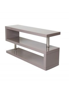 Miami Grey Gloss Modern TV Stand Unit