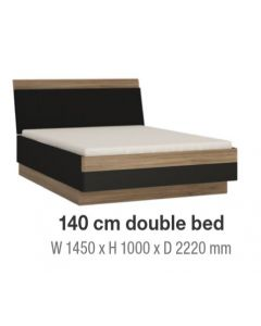 Monaco 140 cm Double Bed