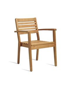 MORE Arm Chair – ZA.206C – Robinia Wood