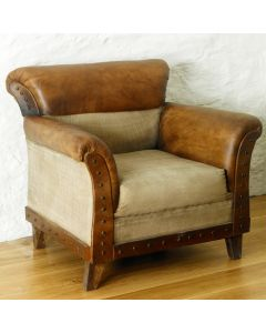 Roadie Chic Leather Chair - IRR51URB3