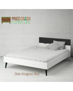 Oslo Euro King Size Bed (160 x 200) at Price Crash Furniture. Matching items available.