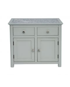 Core Products Perth Grey Handcrafted 2 Door 2 Drawer Sideboard