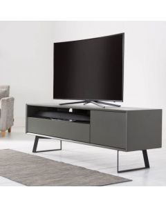 "Carbon ADCA1600-GRY 1600 TV Stand for 72"" TVs by Alphason at Price Crash Furniture. Also in 1200 and 2000 mm sizes"