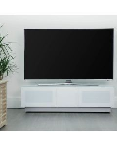 Element EMT1250 High Gloss White TV Cabinet by Alphason at Price Crash Furniture. Also in Black or Grey. Other sizes available