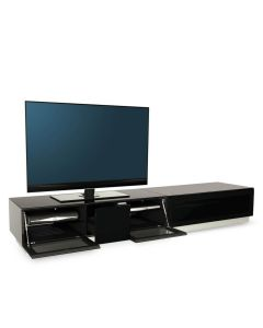 Element EMT2100 High Gloss Black TV Cabinet by Alphason at Price Crash Furniture. Also in Grey or White. More sizes available