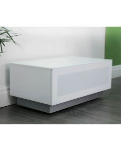 Element EMT850 High Gloss White TV Cabinet by Alphason at Price Crash Furniture. Also in Black or Grey. Other sizes available