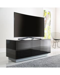 Element XL EMT1250XL High Gloss Black TV Stand by Alphason at Price Crash Furniture. Also in Grey or White. Also in 2500mm wide