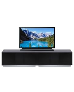 Element XL EMT2500 High Gloss Black TV Stand by Alphason at Price Crash Furniture. Also in 1250 mm wide. Also in Grey or White
