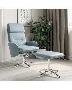 Belding Recliner Office and Lounge Chair plus Stool at Price Crash Furniture. Free UK delivery!