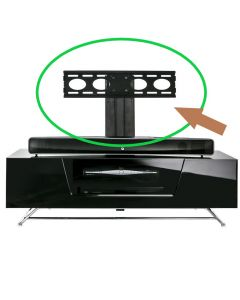 Chromium Cantilever TV Mounting Bracket for selected TV stands