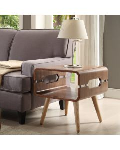 JF704 Havana lamp table in walnut by Jual Furnishings at Price Crash Furniture. Matching items available