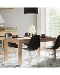Kensington Extending Dining Table in Oak at Price Crash Furniture. Matching furniture items available.