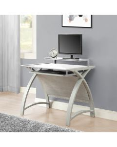 PC201 Helsinki 900 Home Office Desk in Grey by Jual at Price Crash Furniture. Matching home office furniture items available.