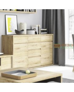 Shetland 2 Door 6 Drawer Chest / Sideboard