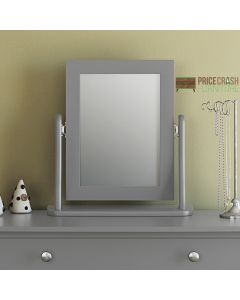 Steens Baroque Vanity Dressing Table Mirror in Grey at Price Crash Furniture. Matching items available. Also available in White or Black.