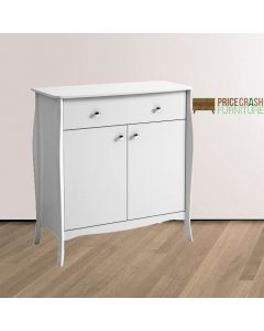 Steens Baroque Small Sideboard in White at Price Crash Furniture. Matching items available
