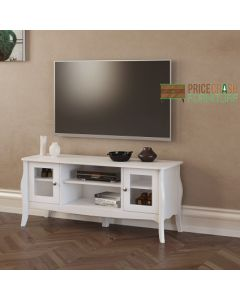 Steens Baroque TV Stand 120 cm in White
