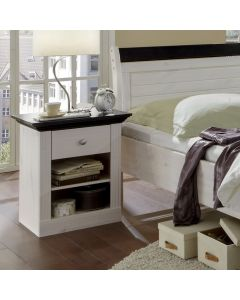 Steens Monaco 1 Drawer Bedside Table/Cabinet