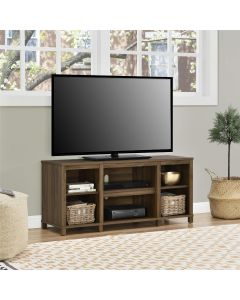 Parsons Wooden Small TV Stand In Walnut for up to 50 inch TVs by Dorel at Price Crash Furniture