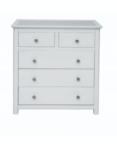 Core Products Stirling White Handcrafted 2+3 Drawer Chest