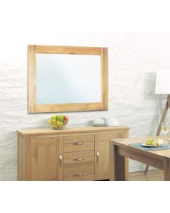 Baumhaus Aston Oak Wall Mirror - CVR16A