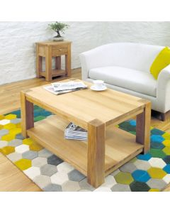 Baumhaus Aston Oak Coffee Table Medium - CVR08A