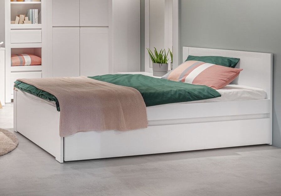 Novi 120 Cm Small Double Bed In Alpine, What Size Is A Small Double Bed In Cms